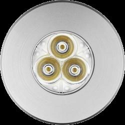 HALOGEN LAMP - INOX RING